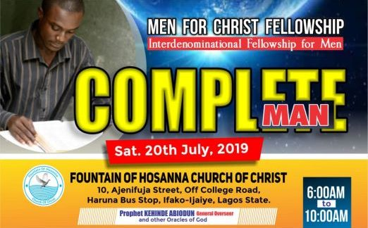 Men for Christ Fellowship